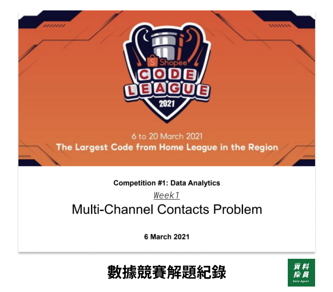 【2021 Shopee Code League】解題紀錄|Week1:Multi-Channel Contact Problem